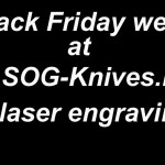 SOG Knives Black Friday 2015